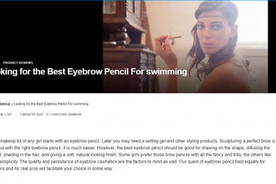 the best eyebrow pencil