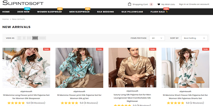 mens silk pjs